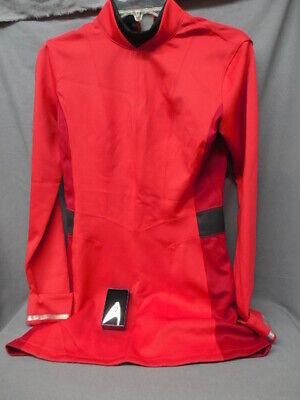 STAR TREK NYOTO UHURA DRESS RED SIZE L