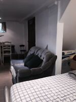 furnished apartment all inclusive, Close to downtown Montreal b