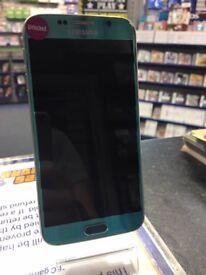 Samsung Galaxy S6 32GB Blue Topaz -- -Unlocked