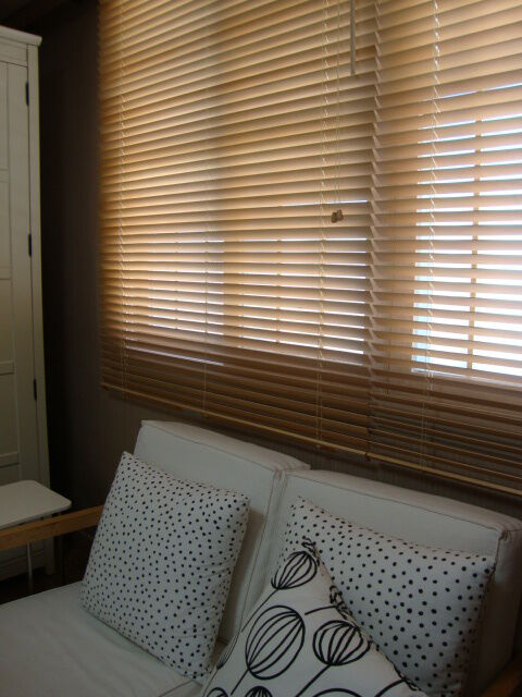 ikea wooden lindmon blinds x 2 in bulwell nottinghamshire gumtree. Black Bedroom Furniture Sets. Home Design Ideas