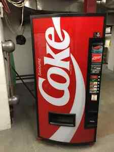 Distributrice Coca-Cola