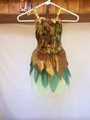 Green Fairy Costumes (Green, Brown & Gold Youth
