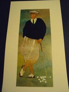 Bart Forbes golf art print