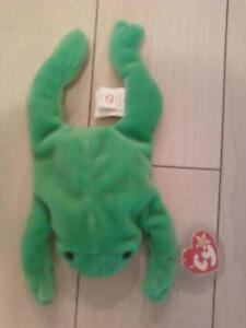 1993 Beanie Baby Legs the Frog