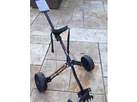 2 wheeled golf trolley