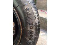 Car wheel: 165/ 70R13
