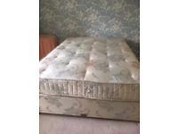 Good quality double bed - Sleepeezee Grosvenor
