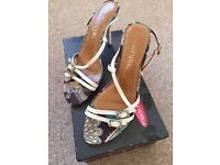 Strappy sandals size 5