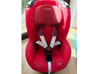 Maxi Cosi Tobi Car Seat (Intense Red) with Instruction Manual