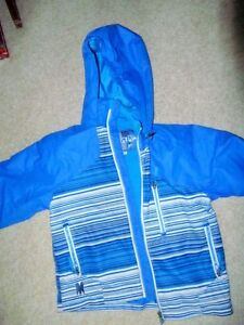 Monster = Hooded Weather Resistant Jacket = Size 7/8