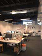 Hot Desks in Shared Creative Space Bowen Hills Brisbane North East Preview