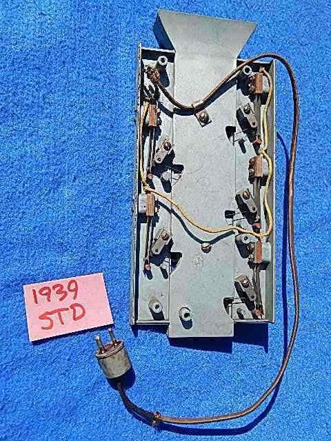 1939 Rock-ola STD-39 Standard Coin Switch Assembly
