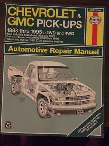 Chevrolet & GMC Pick-up Haynes Manual