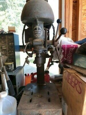 Walker Turner Rare Vintage Drill Press For Wood And Metal