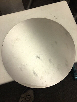 Aluminum Disc T-6 6061 38 Thick X 14 12 Dia. Disk Plate