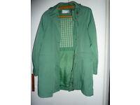Dannimac brand coat/jacket with detachable hood size S