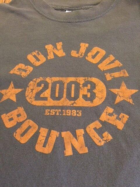 Bon Jovi 2003 The Bounce vintage, authentic tour t-shirt Large.