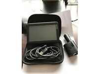 Tom Tom GPS with case and charger