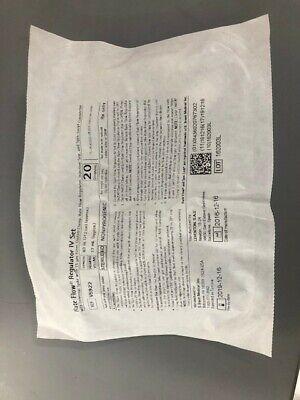 Braun Rate Flow Regulator Iv Set V5922 Brand New Sealed In Bag Expired