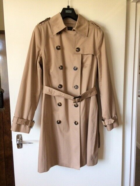 huge sale low price new products Ladies M & S Trench Coat Brand New | in Llandaff, Cardiff | Gumtree