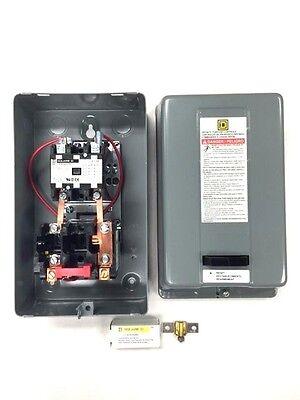 Dewalt Magnetic Starter 7.5hp Single Phase 208-240 Volt