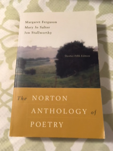 Norton Anthology of Poetry, Shorter 5th Edition