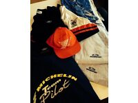 Teamwear/sportswear, large quantity lightly used team motorsports teamwear, polos, shirts etc