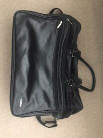 USED Leather travel/ business case