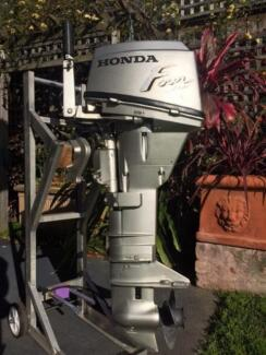 HONDA 15hp long shaft, Outboard Motor, little use, very reliable Five Dock Canada Bay Area Preview