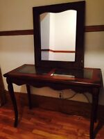 Matching Console Table and Mirror
