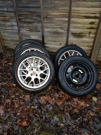 Wheels with tyres R16