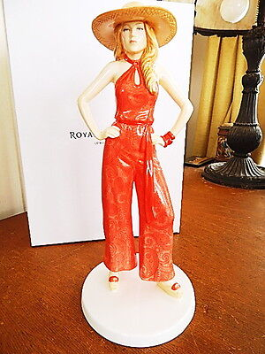 Royal Doulton Pretty Ladies Fashion Through the Decades 1970's CHARLIE HN5597
