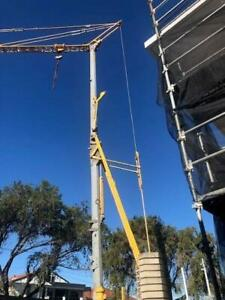 01/01 Potain HD40 Self Erecting Tower Crane Milperra Bankstown Area Preview