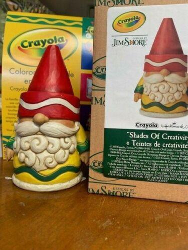 Jim Shore Crayola Gnome - Shades of Creativity #6009135 New in Box