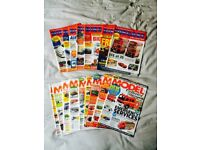 DIECAST COLLECTOR & MODEL COLLECTOR MAGAZINES (16 ISSUES)