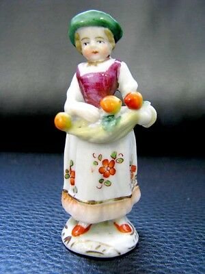 Frankenthal oder Ludwigsburg Miniatur Figur Figure Figurine um 1800