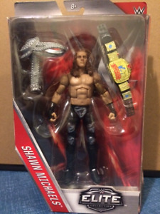 WWE WWF SHAWN MICHAELS ELITE WRESTLING ACTION FIGURE