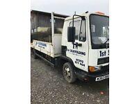 2 X Ex Scaffold Lorries