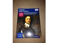 Oxford AQA A Level & AS History , Stuart Britain & the crisis of Monarchy 1603 - 1702