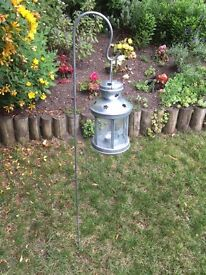 Two New Garden Lanterns in zinc finish