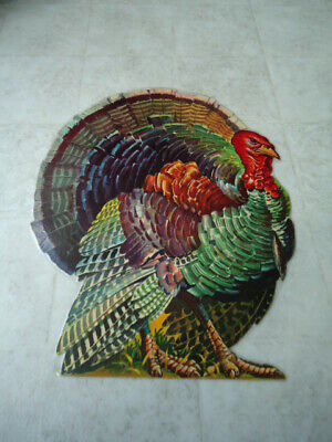 Thanksgiving Bulletin Board Decorations (Fall Thanksgiving Turkey Die Cue Single Sided Wall Or Bulletin Board Decoration)