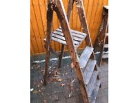 Vintage set of steps suitable for wedding props or interior deisign