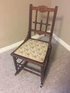 Antique Small Rocking Chair