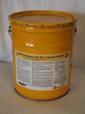 Sika - Sikadur 55 Slv Epoxy Resin Crack Sealer - 3 Gal