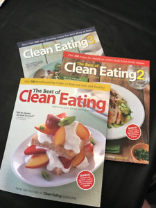 Clean Eating Magazine's Clean Eating Cookbooks