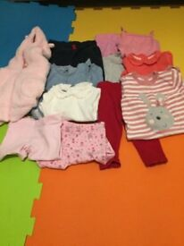 Baby girls bundle 6-9 months