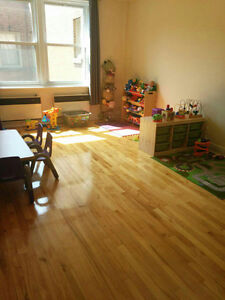 Daycare located in downtown of Montreal
