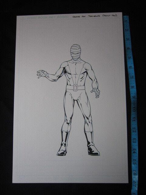 DC Comics Character Design Negative Man Who