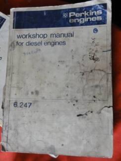 PERKINS 6247 DIESEL ENGINE FACTORY WORKSHOP MANUAL Dianella Stirling Area Preview