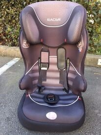 Group 1-2-3 Black and Grey Car Seat